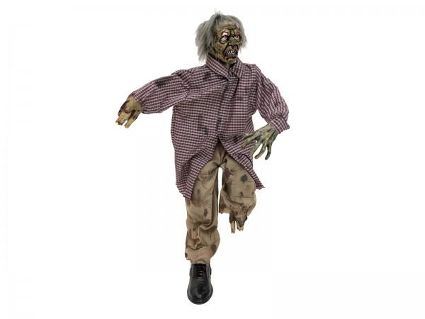 EUROPALMS Halloween Zombie, sitzend, 120x50x25cm