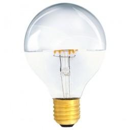Kopfspiegellampe G80 LED E27 Filament 230V 4W warmweiß 2700K 420lm