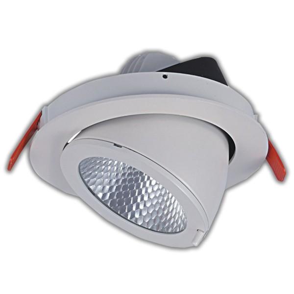 Blulaxa LED Downlight 25W warmweiß COB dreh- und kippbar