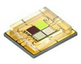 Osram bringt neu aufgebauten RGBW LED Chip für die Bühnentechnik auf den Markt