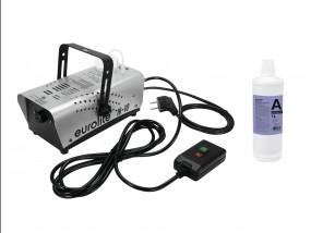 EUROLITE Set N-10 silber + A2D Action Nebelfluid 1l