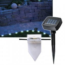4m LED Rasenkante Solar Wegebeleuchtung