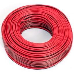 50m Lautsprecherkabel 2x 0,50mm rot schwarz