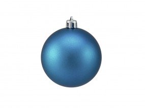 EUROPALMS Dekokugel 7cm, blau, matt 6x