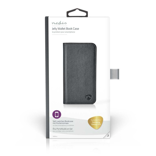 Wallet Book für Samsung Galaxy S10 | Schwarz