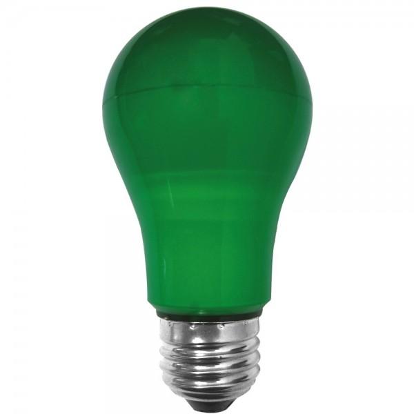 EiKO A19 55x108 LED E27 7W grün 230V IP65 90lm 270°