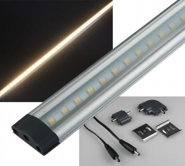 LED Unterbauleuchte CT-FL50 50cm 5W warmweiß