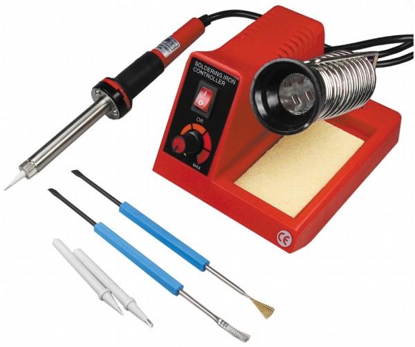 Regelbare Lötstation 100-450°C 230V/58W inkl. Zubehör