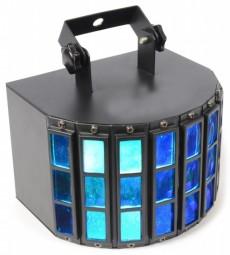 LED Derby Lichteffekt 9x 1W Sound Control