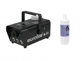 EUROLITE Set N-11 LED Hybrid amber Nebelmaschine + A2D Action Ne