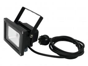 Schwarzlicht 10W COB LED UV Fluter schwarz IP54