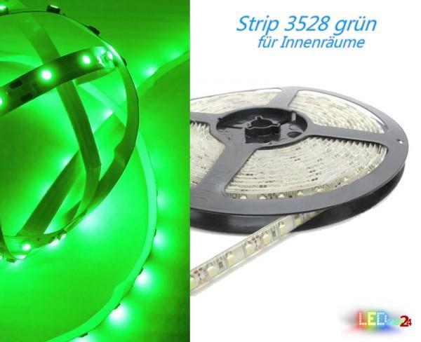 LED Strip GRÜN 12V 60 LED/m IP20 Wunschlänge