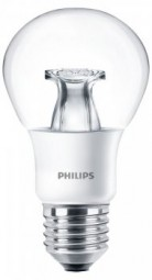 Philips E27 LED Lampe WarmGlow 6W 470lm warmweiß dimmbar klar