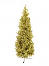 EUROPALMS Tannenbaum FUTURA, gold-metallic, 210cm