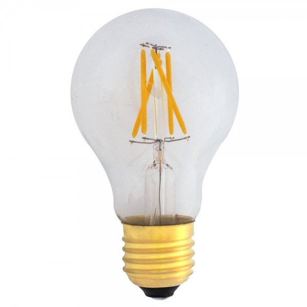 EiKO A19 LED E27 Filament 230V 4W warmweiß 2400K klar 420lm
