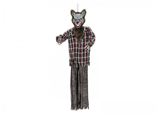 EUROPALMS Halloween Wolfsmensch, 160x50x12cm