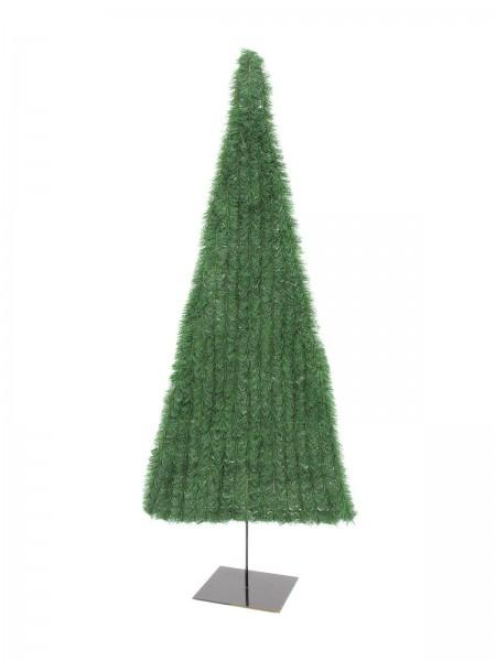 EUROPALMS Tannenbaum, flach, hellgrün, 150cm