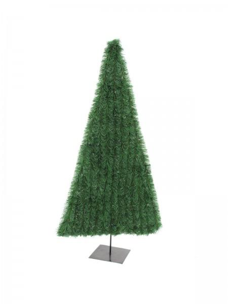 EUROPALMS Tannenbaum, flach, dunkelgrün, 120cm