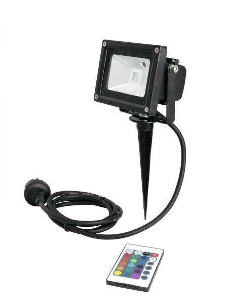 EUROLITE LED IP FL-10 COB RGB FB + Spieß