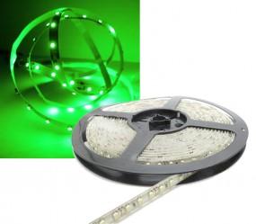 LED Strip GRÜN 5m 12V 120 LED/m IP65
