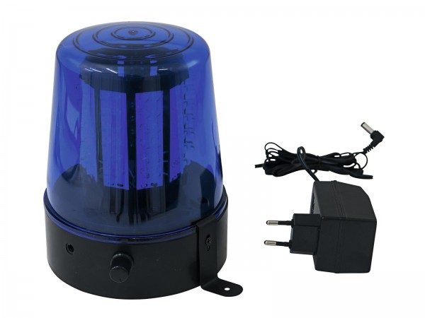 EUROLITE LED Polizeilicht 108 LEDs blau Classic