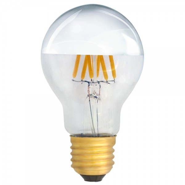 Eiko kopfspiegellampe a19 led e27 filament 6w warmwei 2700k 620lm 230v led - Kopfspiegellampe led e27 ...