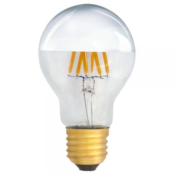eiko kopfspiegellampe a19 led e27 filament 6w warmwei 2700k 620lm 230v led. Black Bedroom Furniture Sets. Home Design Ideas