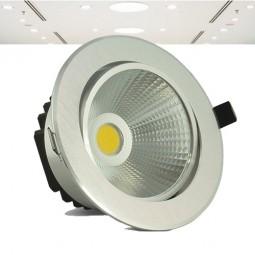 LED Einbauleuchte 230V 9W COB kaltweiß warmweiß