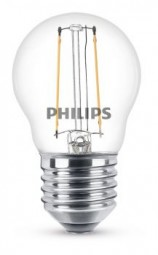 Philips E27 LED Tropfen Filament 2W 250lm warmweiss
