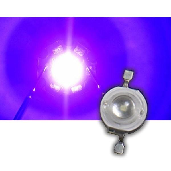 3W High Power Chip UV violett Schwarzlicht