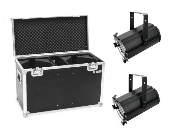 EUROLITE Set 2x LED THA-120PC Theater-Spot + Case