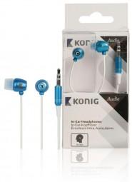 König Smart Kopfhörer 3,5mm Blau