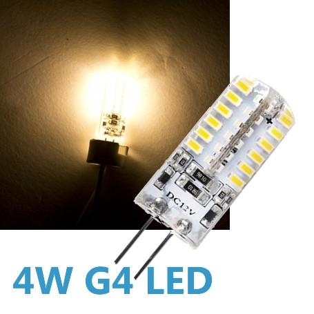 LED G4 4W 12V Leuchtmittel warmweiß (Spot, Strahler, Halogen)
