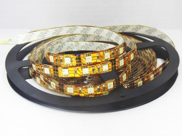Flex LED RGB Strip SMD 5050 5m 12V Innen IP20 kupfer