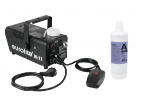 EUROLITE Set N-11 LED Hybrid blau Nebelmaschine + A2D Action Neb