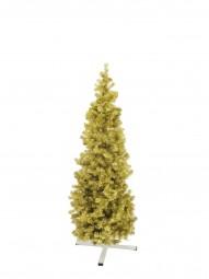 EUROPALMS Tannenbaum FUTURA, gold-metallic, 180cm