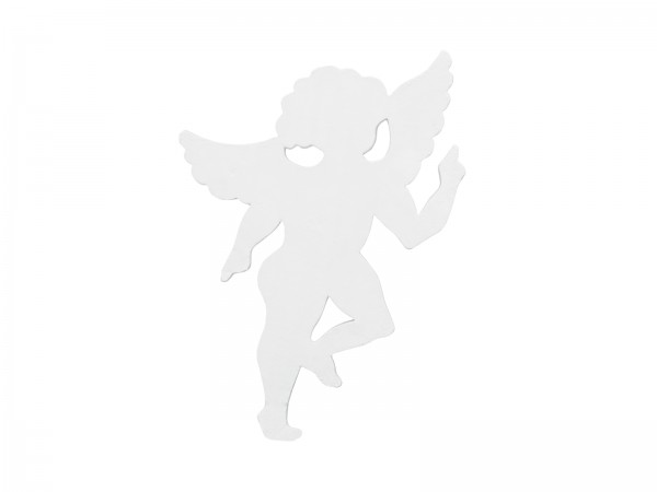 EUROPALMS Silhouette Engel, weiß, 60cm