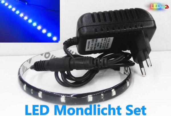 Dimmbares LED Mondlicht für Aquarien bis 80cm (erweiterbar)