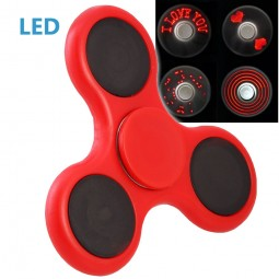 LED Fidget Spinner I love you - 3 Schaltungen