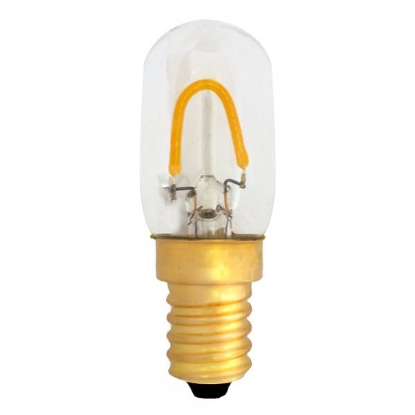 Nähmaschinen-Leuchtmittel T22 LED E14 Filament 1W kaltweiß 6500K 120lm 230V