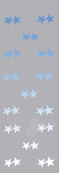 EUROPALMS Vliesbanner, Stern B1, 100x350cm