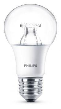 philips e27 led lampe warmglow 8 5w 806lm warmwei dimmbar klar led ambiente. Black Bedroom Furniture Sets. Home Design Ideas