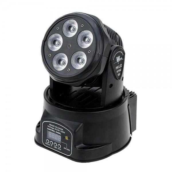 LED 5x15W Mini Moving Head Wash RGBAW DMX