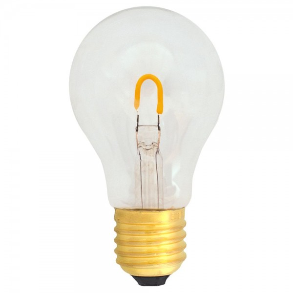EiKO A19 LED E27 Filament 1W klar warmweiß 2400K 90lm 230V