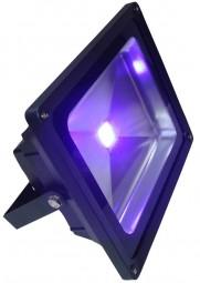 Schwarzlicht 30W COB LED UV Fluter schwarz IP54