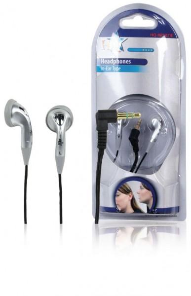 HQ In Ear Kopfhörer 3,5mm silber