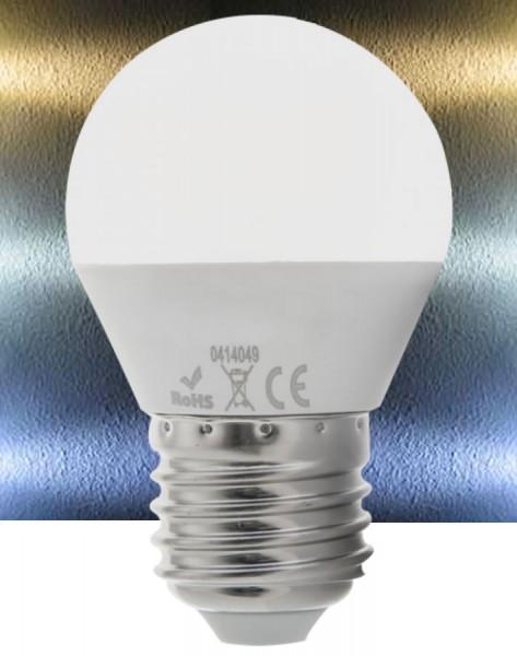 LED E27 7W Leuchtmittel G45 warmweiß - neutralweiß
