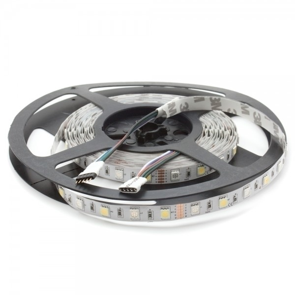 5m RGBW LED Strip für Innenräume IP20