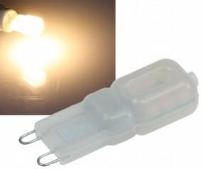 LED G9 3W warmweiß 230V