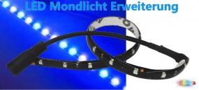 Dimmbare LED Mondlicht Erweiterung für Aquarien